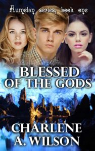 Blessed of the Gods pb front white letters