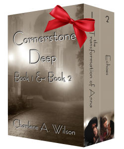 CornerstoneDeep box set cover - promo bow