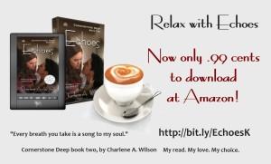 Echoes ebook sale promo
