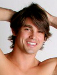 Eric - portrayed by Justin Gaston